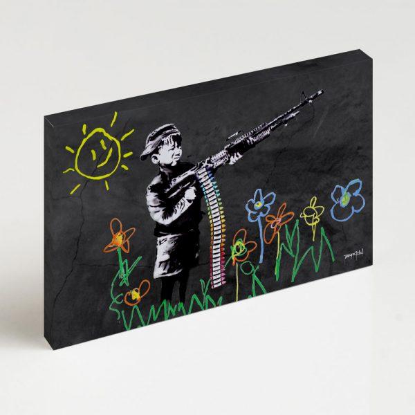 Quadro Canvas - Crayon Gun 2