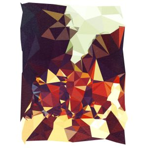 Camisa Feminina – Geometric Abbey Road