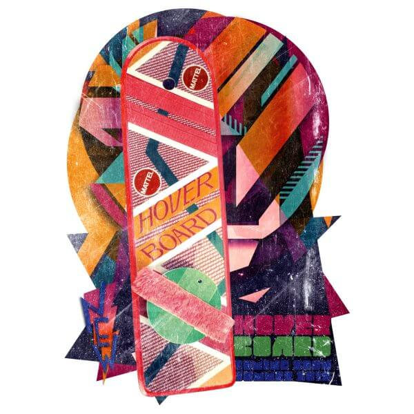 Camisa Feminina - Hover Board 1