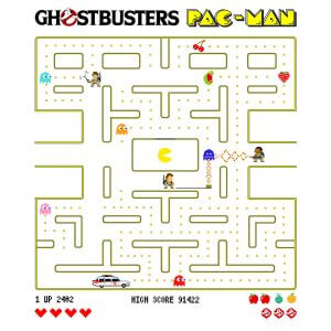 Camisa Feminina – Ghostbuster Pac-Man