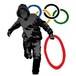 Camisa Feminina – Olympic Rings.