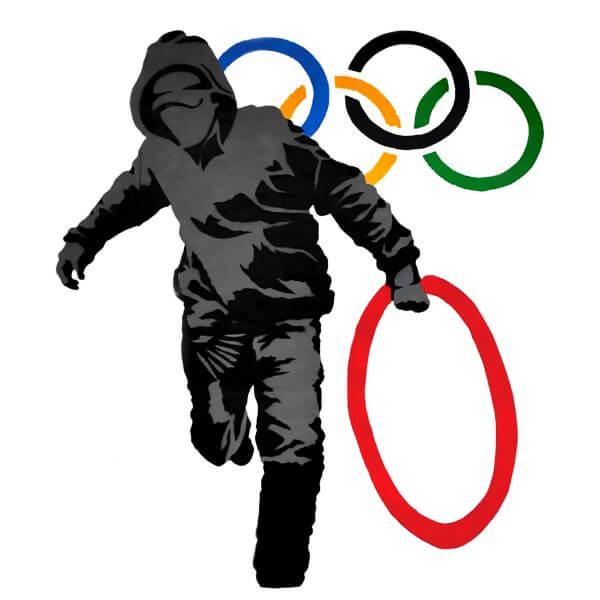 Camisa Feminina - Olympic Rings 1