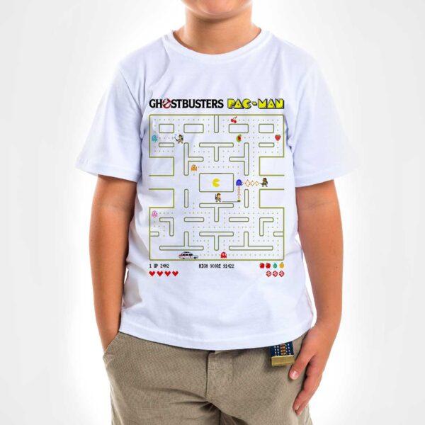 Camisa - Ghostbuster Pac-Man 3