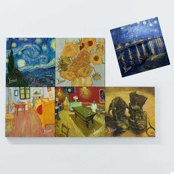 Porta Copos Magnéticos - Vincent van Gogh 3