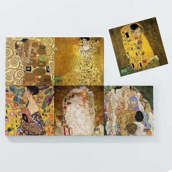 Porta Copos Magnéticos - Gustav Klimt 3