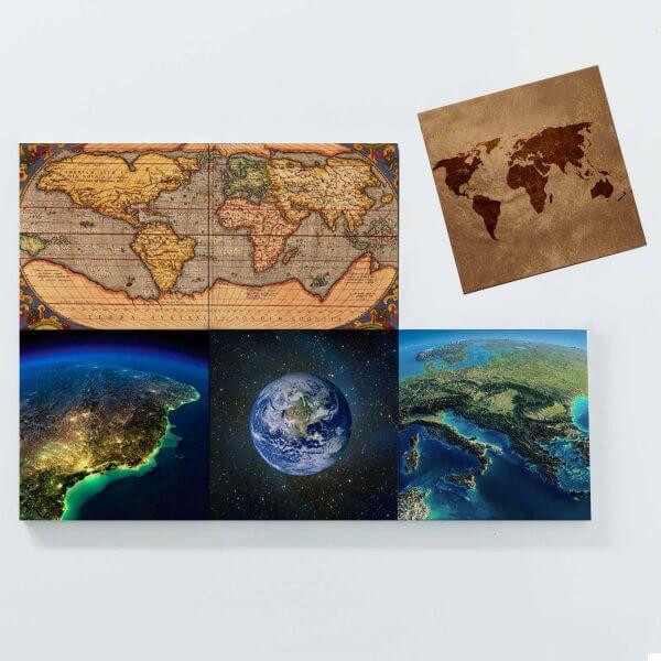 Porta Copos Magnéticos - Planeta Terra 3