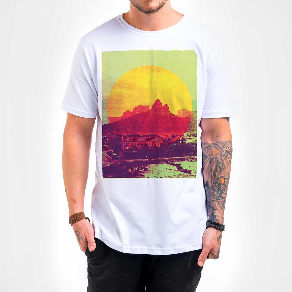 Camisa Masculina - Rio Vintage Sun