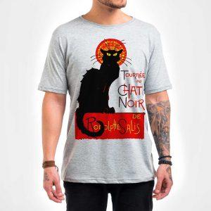 Camisa Masculina – Chat Noir