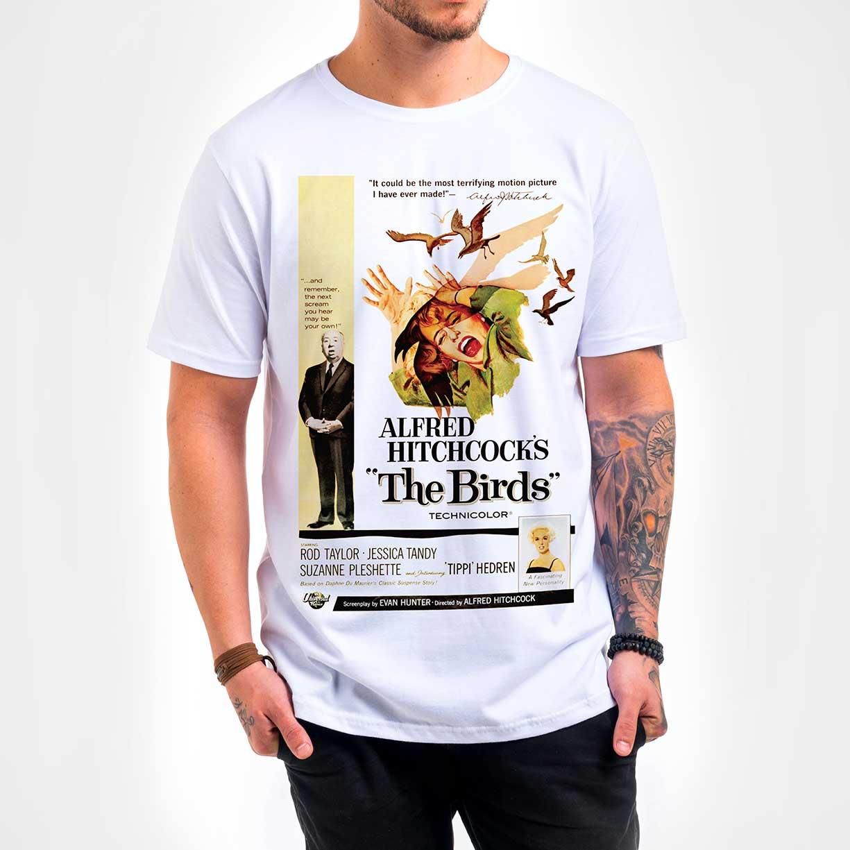 Camisa Masculina - The Birds