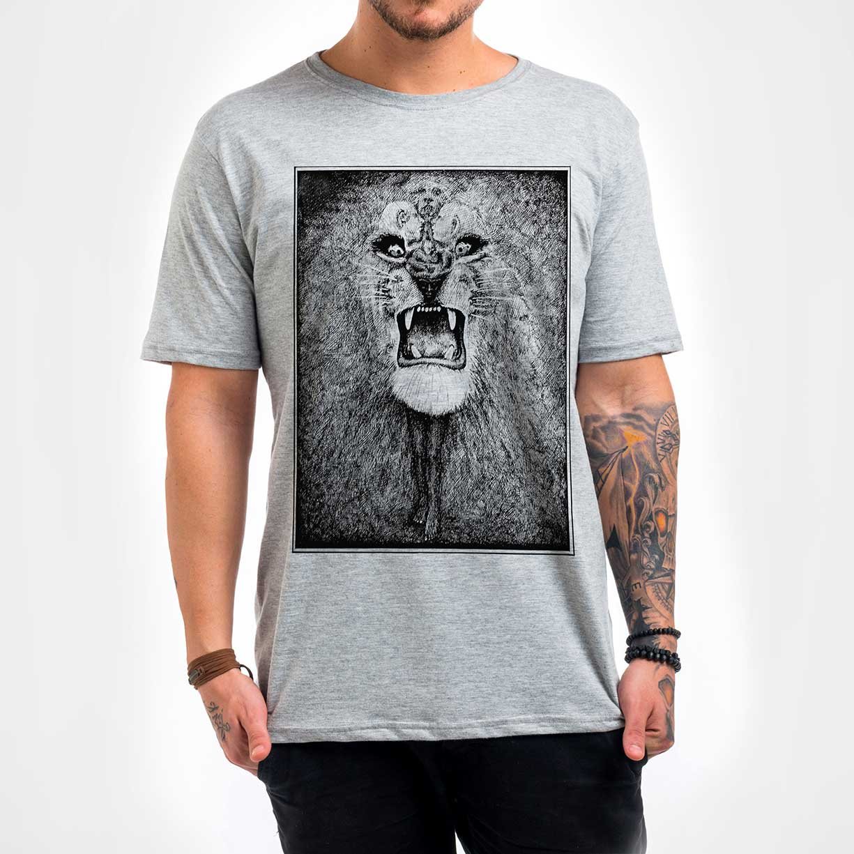 Camisa Masculina - Leão Santana