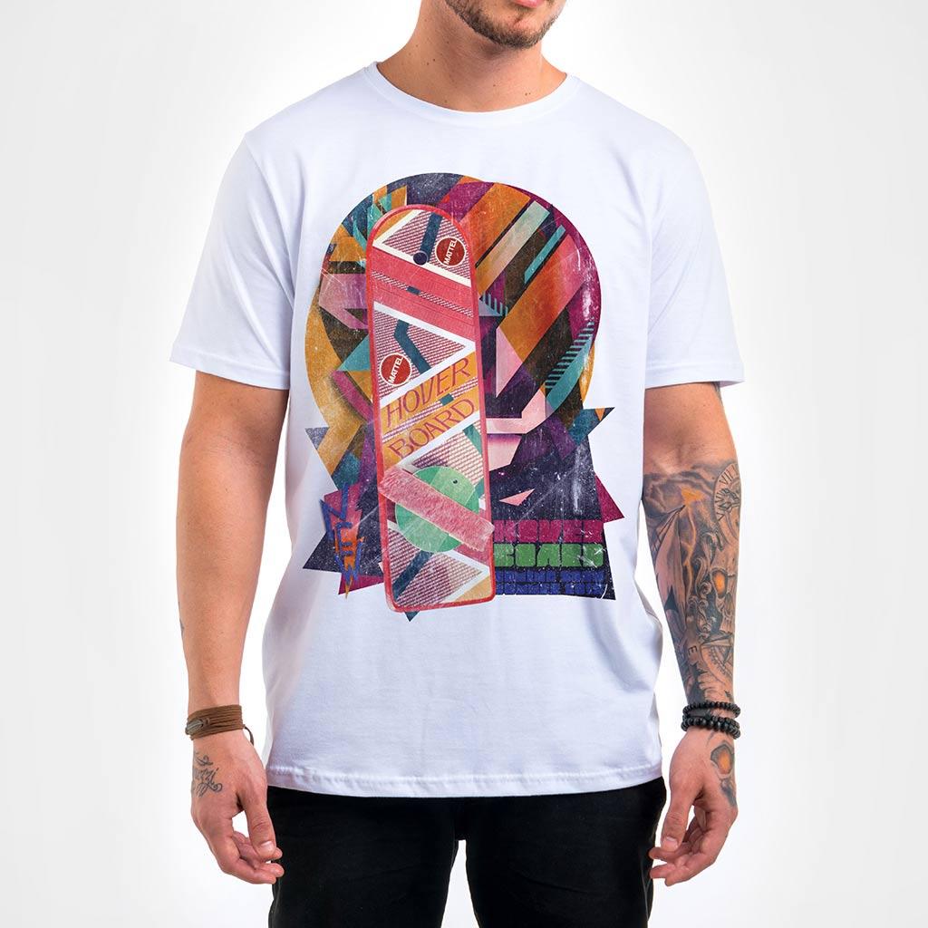 Camisa Masculina - Hover Board