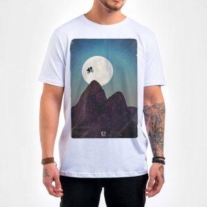 Camisa Masculina Branca – ET in Rio