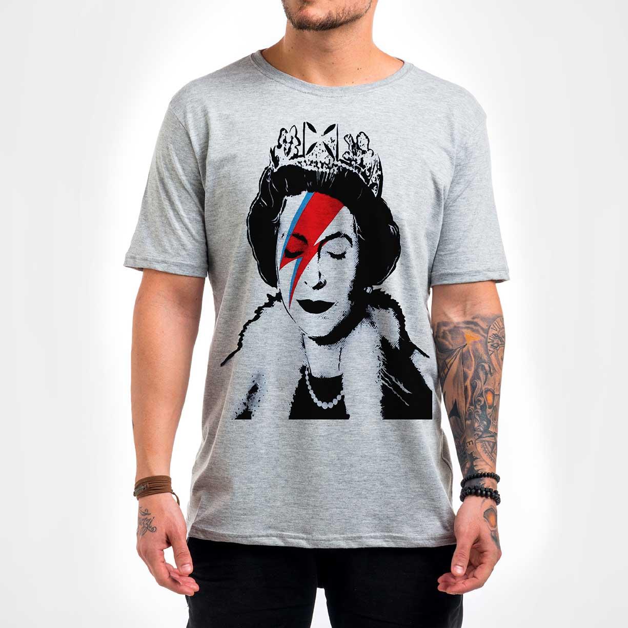 Camisa Masculina - Queen Ziggy