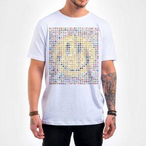 Camisa Masculina – Emoticons