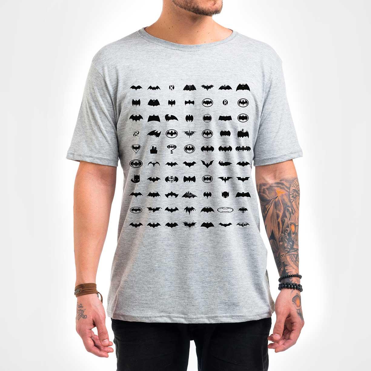 Camisa Masculina - Pattern Batman