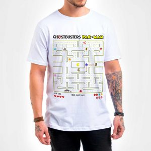 Camisa Masculina – Ghostbuster Pac-Man
