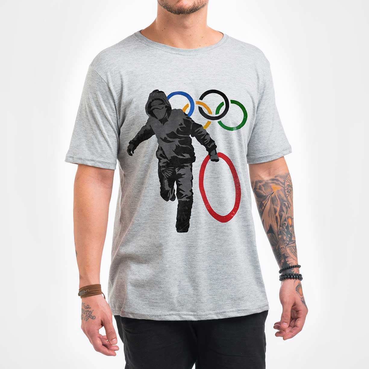 Camisa Masculina - Olympic Rings