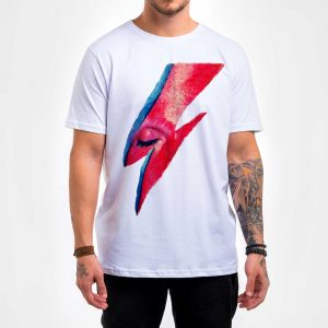Camisa Masculina Branca – Bowie