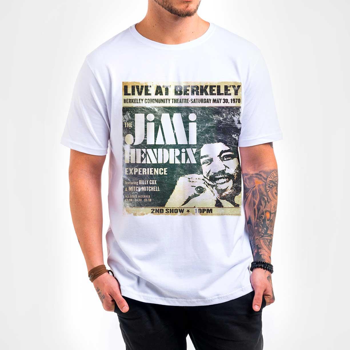 Camisa Masculina - Jimi Hendrix