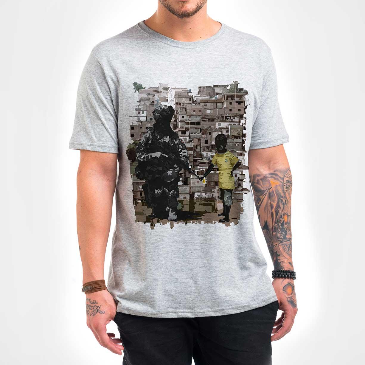Camisa Masculina - Paz