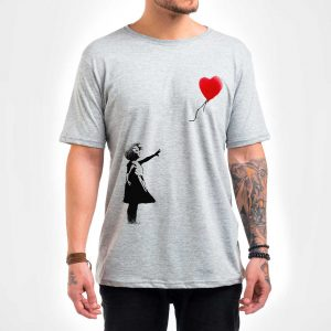 Camisa Masculina – Balloon Girl