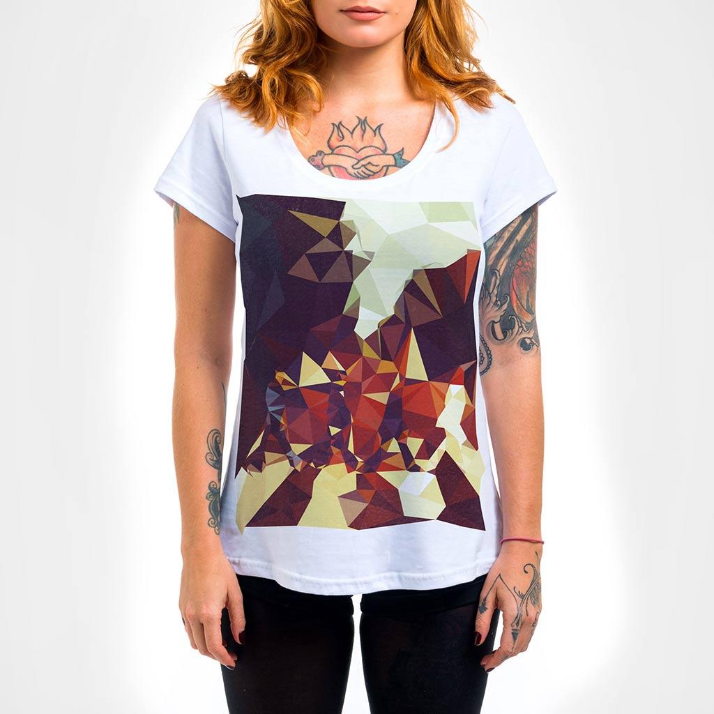 Camisa Feminina - Geometric Abbey Road