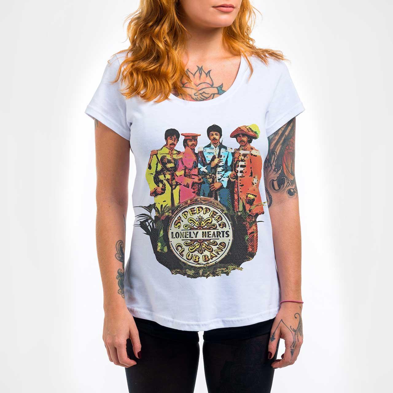 Camisa Feminina - Sgt Peppers