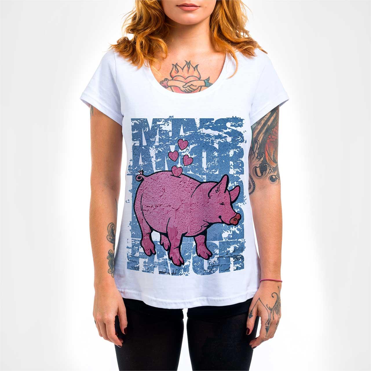 Camisa Feminina - Mais Amor
