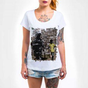 Camisa Feminina – Paz