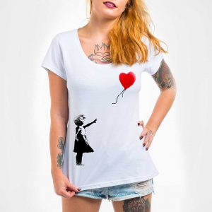 Camisa Feminina – Balloon Girl