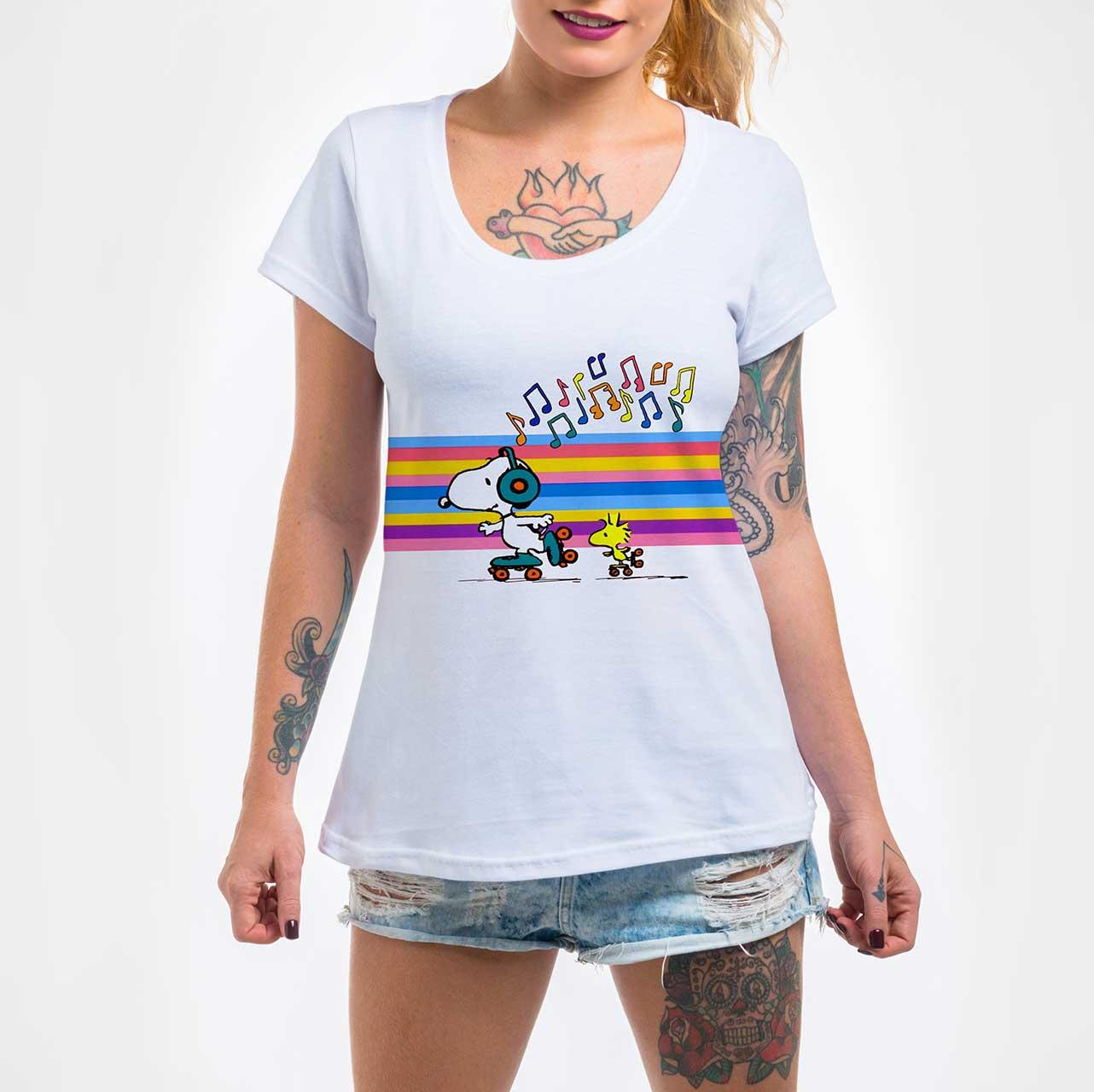Camisa Feminina - Snoopy