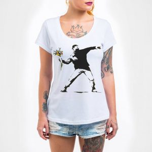 Camisa Feminina – Flower Thrower