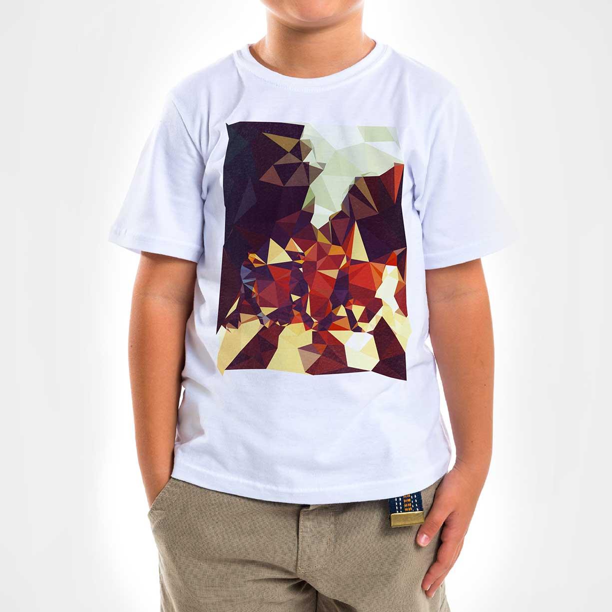 Camisa Infantil - Geometric Abbey Road