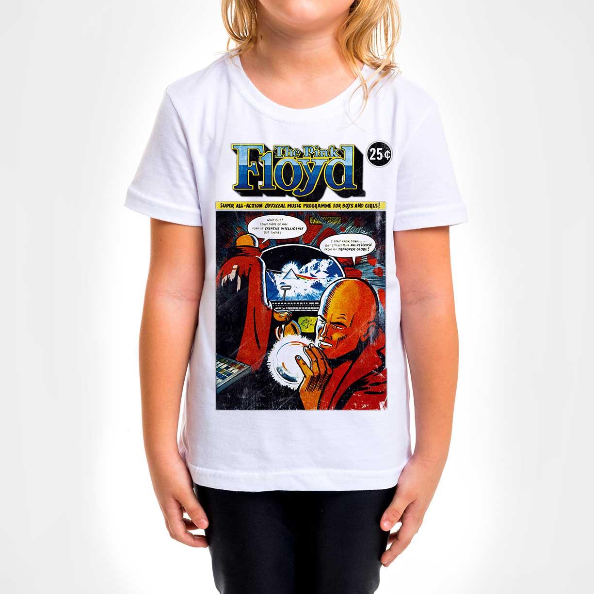 Camisa Infantil - The Pink Floyd