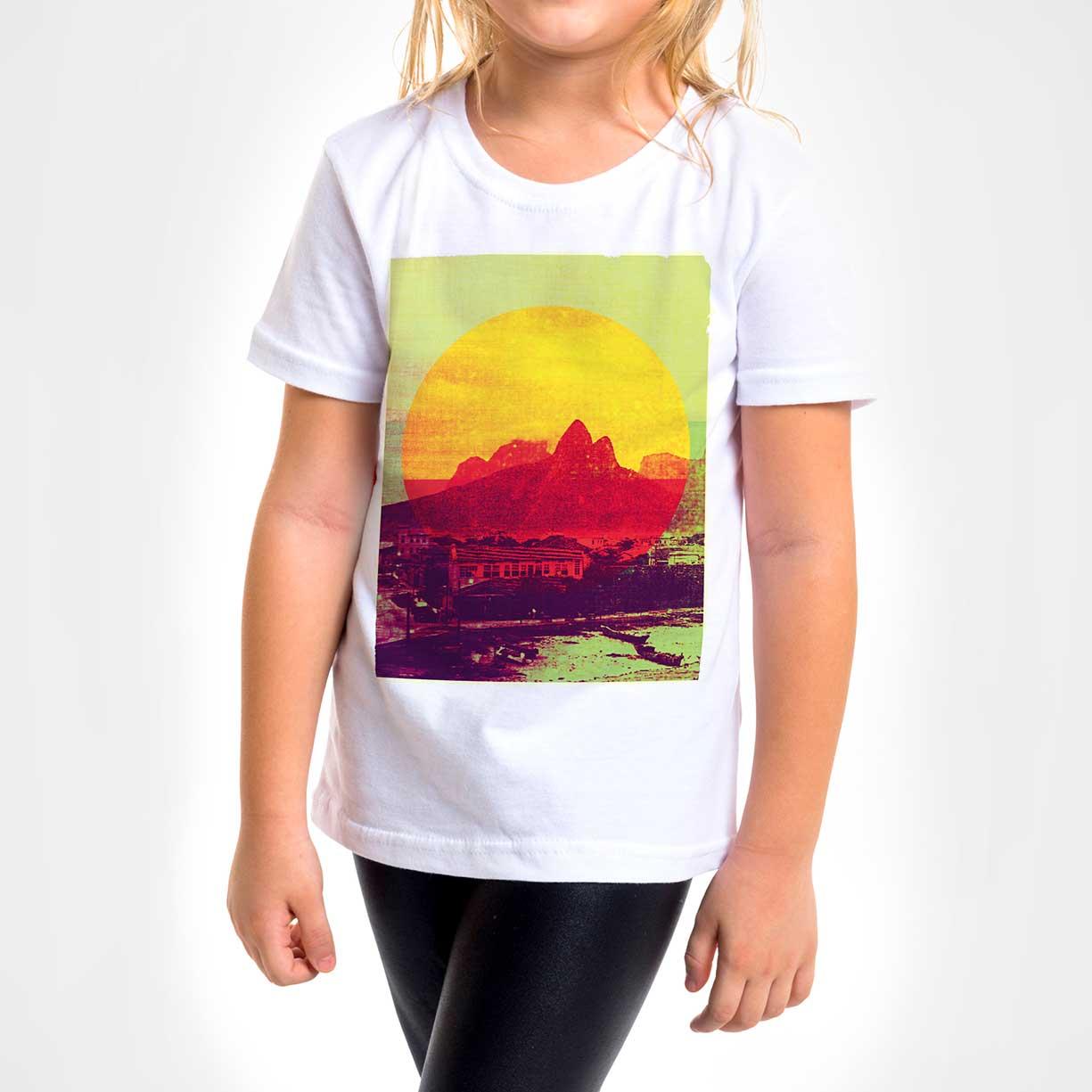 Camisa Infantil - Rio Vintage Sun