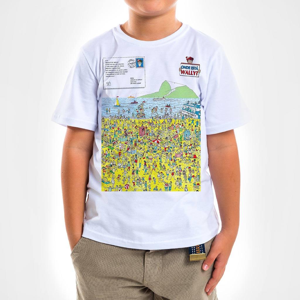 Camisa Infantil - Wally in Rio