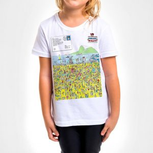 Camisa Infantil – Wally in Rio