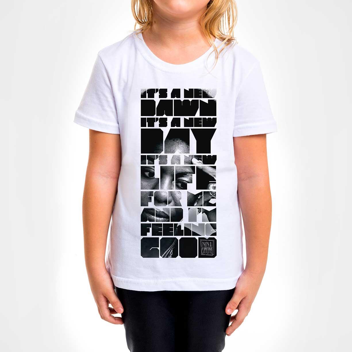 Camisa Infantil - Feeling Good Nina
