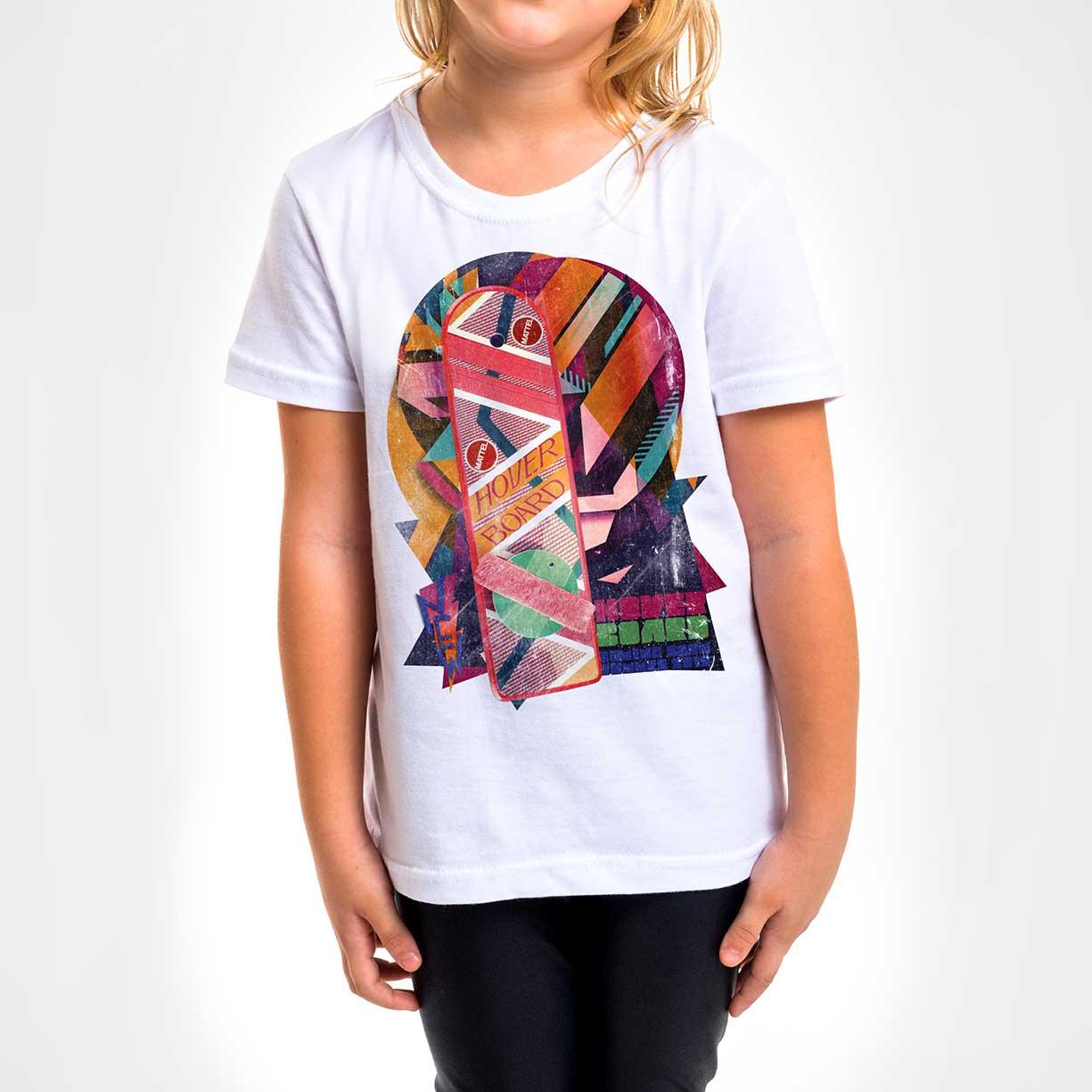 Camisa Infantil - Hover Board