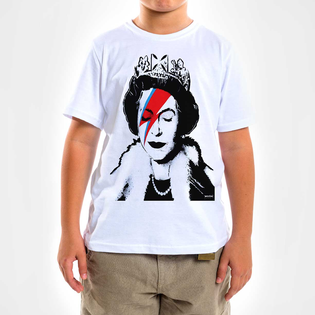 Camisa Infantil - Queen Ziggy