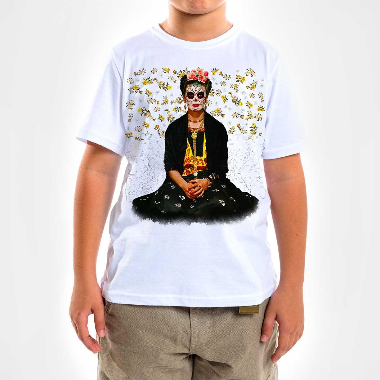 Camisa Infantil - Frida