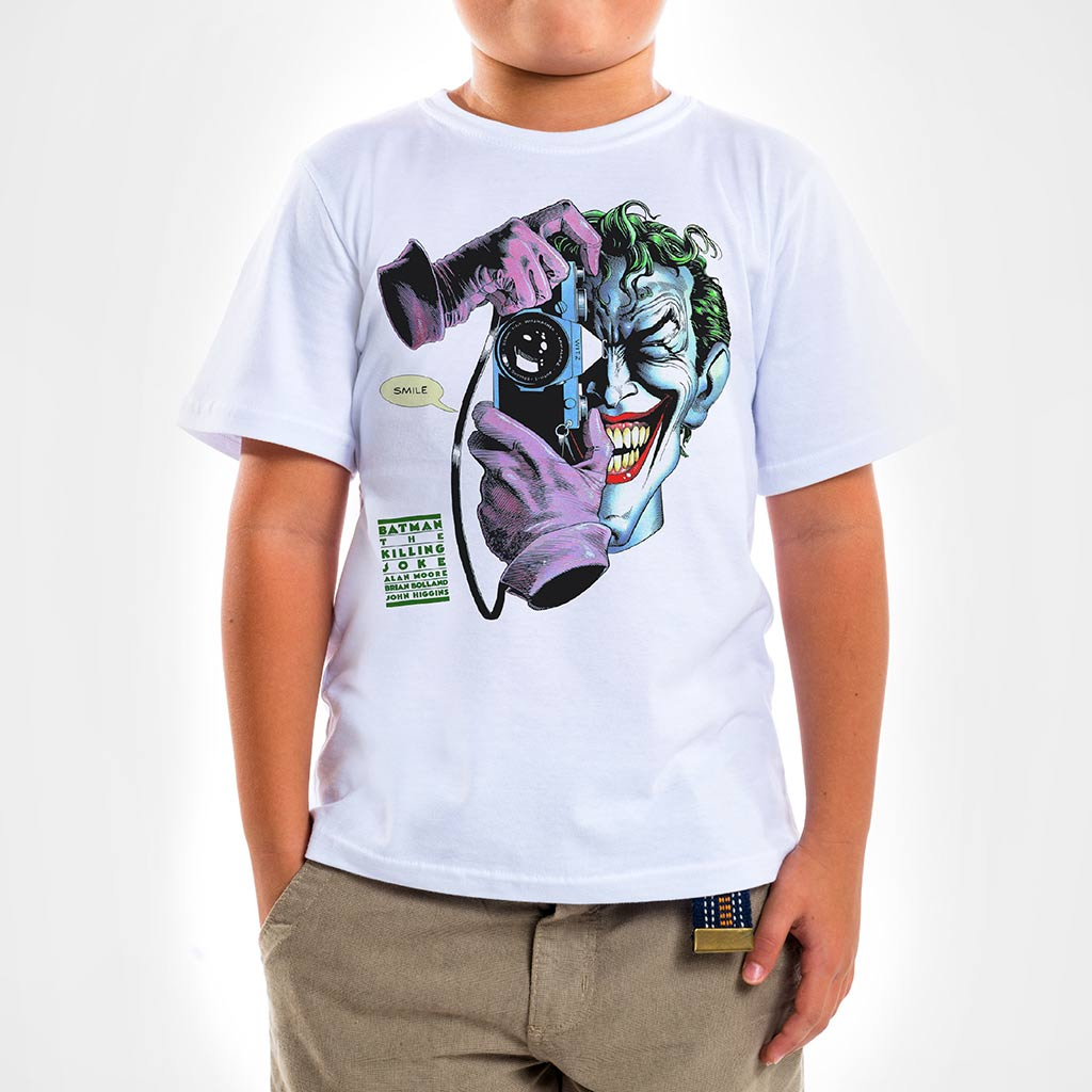Camisa Infantil - Piada Mortal