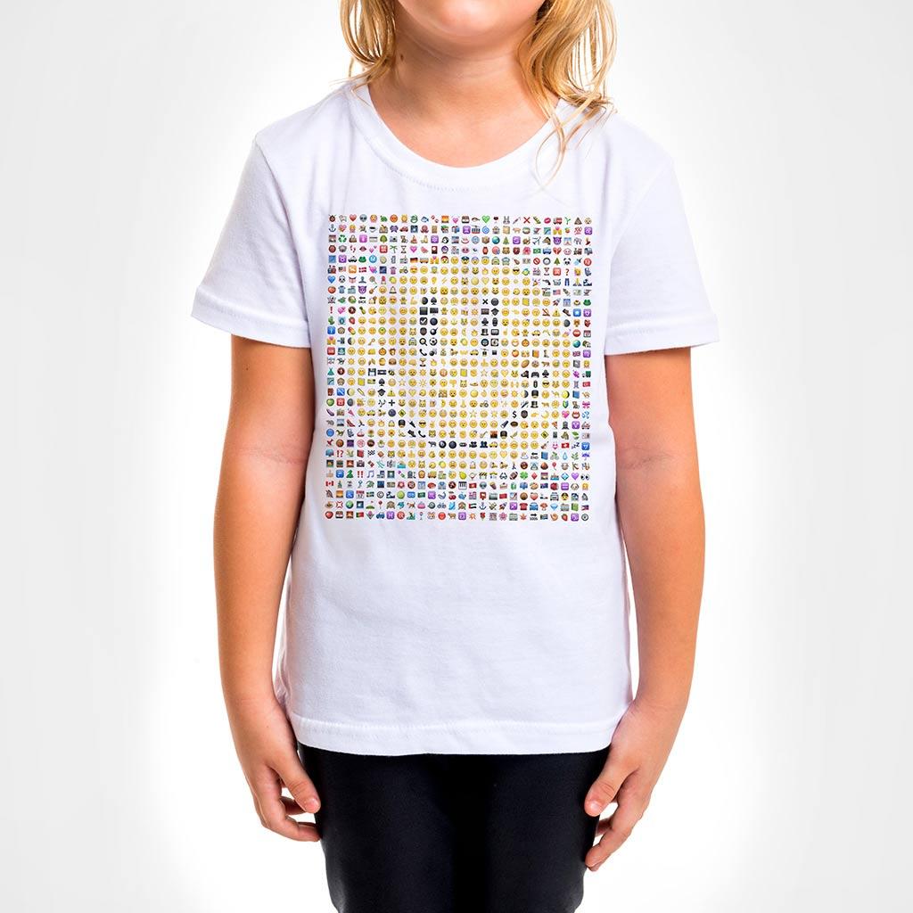 Camisa Infantil - Emoticons