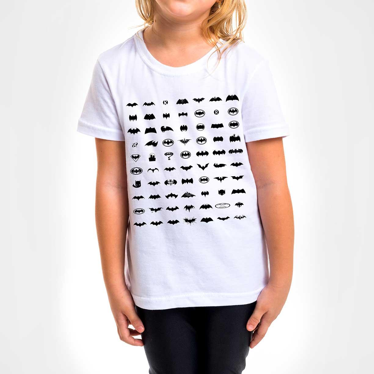 Camisa Infantil - Pattern Batman