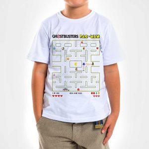 Camisa Infantil – Ghostbuster Pac-Man