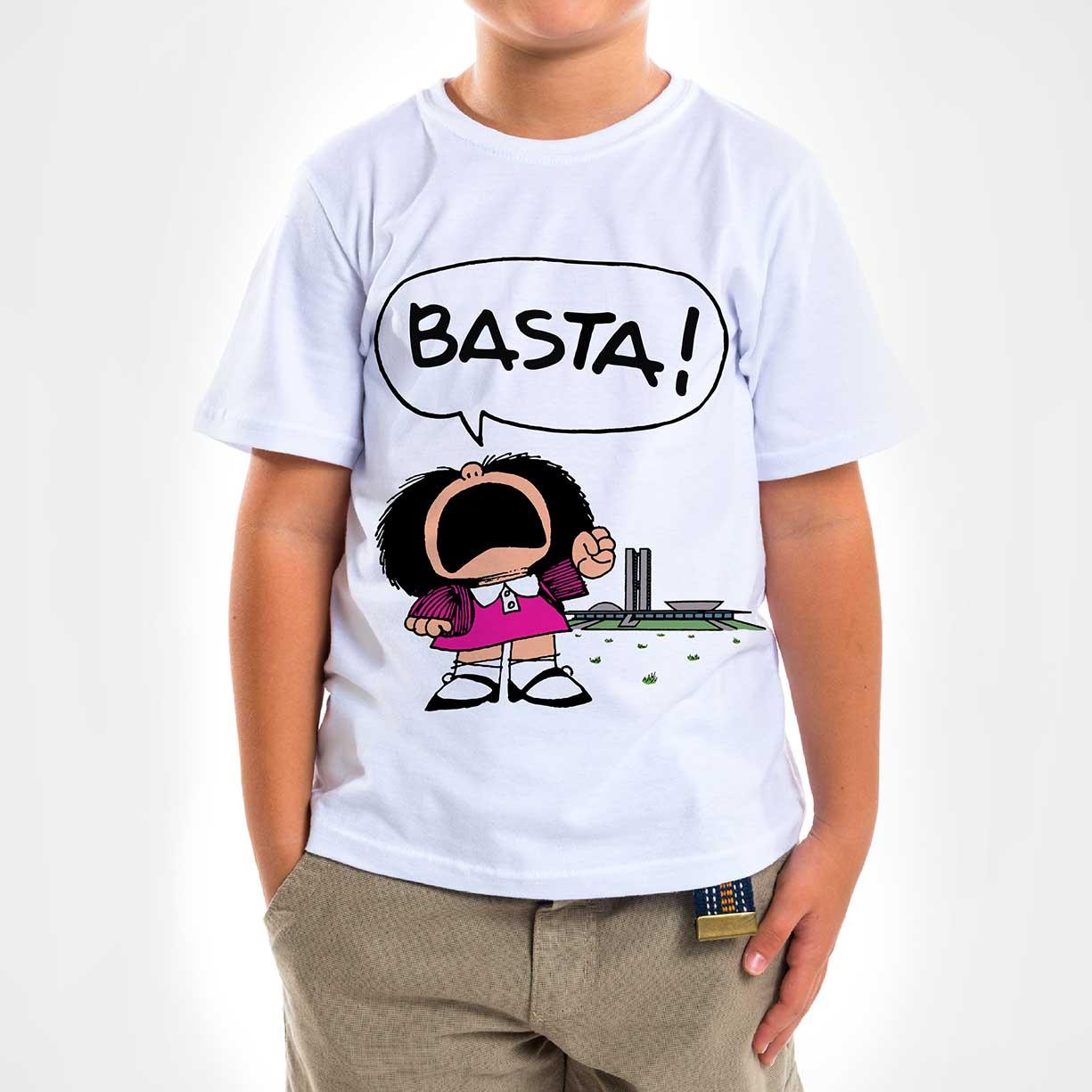 Camisa Infantil - Basta