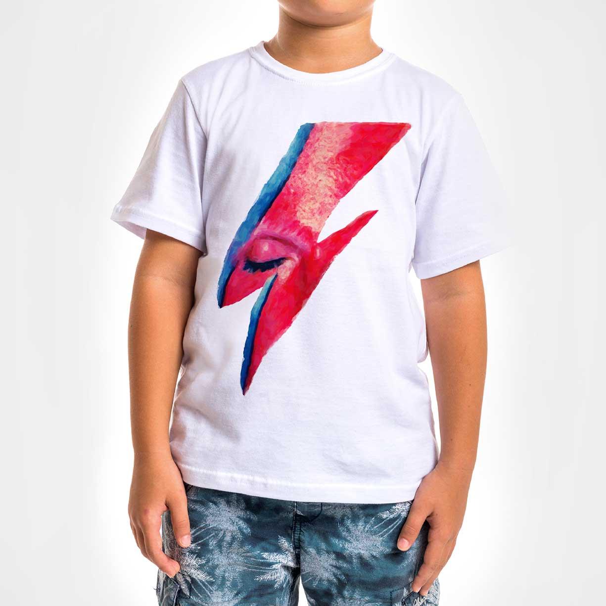 Camisa Infantil - Bowie