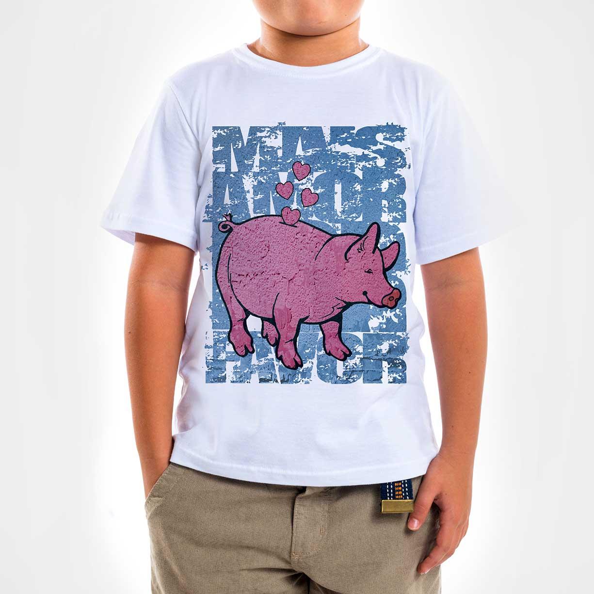 Camisa Infantil - Mais Amor