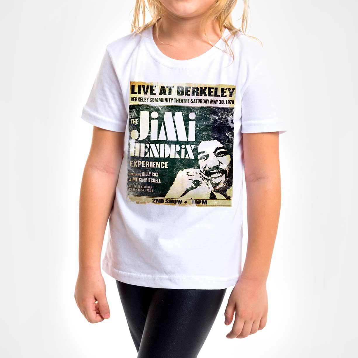 Camisa Infantil - Jimi Hendrix