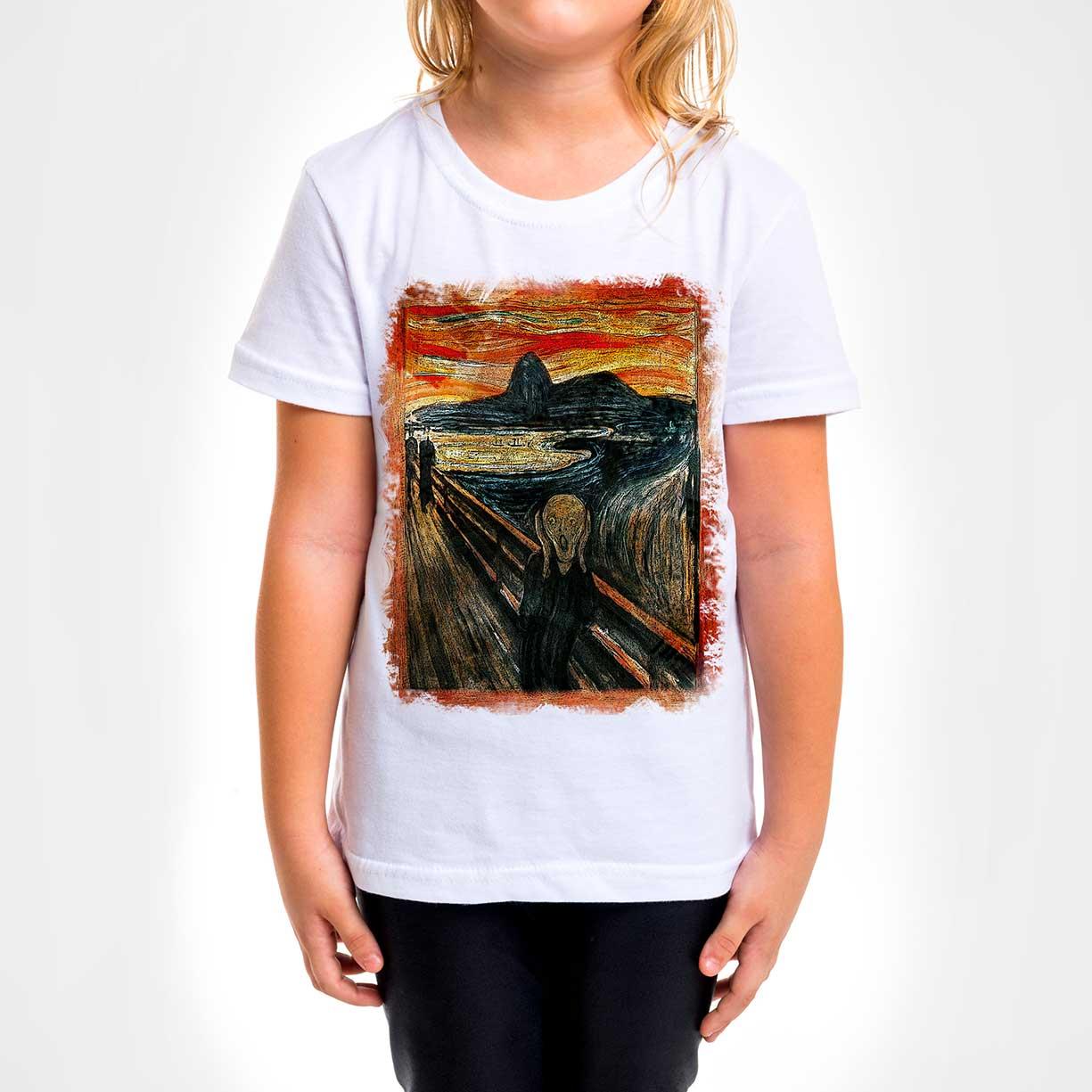 Camisa Infantil - O Grito in Rio